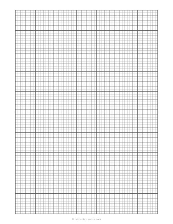 1/8 Engineering Graph Paper