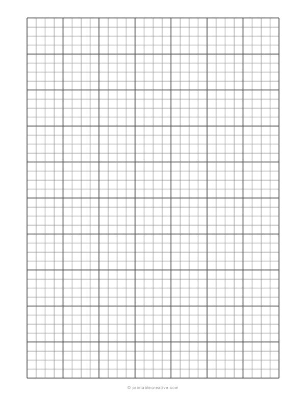 1/4 Engineering Graph Paper